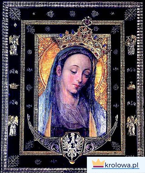Maryja Królowa Polski na obrazie