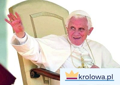 Benedykt XVI i różaniec