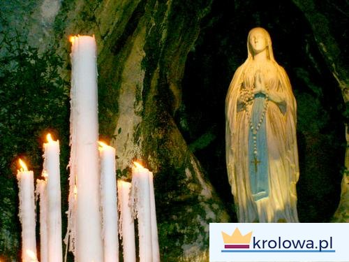 Grota w Lourdes