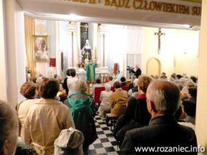 Nabożeństwo w Kaplicówce